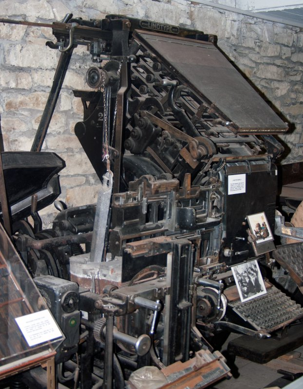 A link to Linotype Model 4