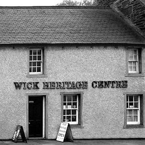 A photograph of the Wick Heritage Centre